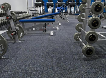 Rubber Gym Mats Rolls Tiles - How to clean black rubber gym flooring